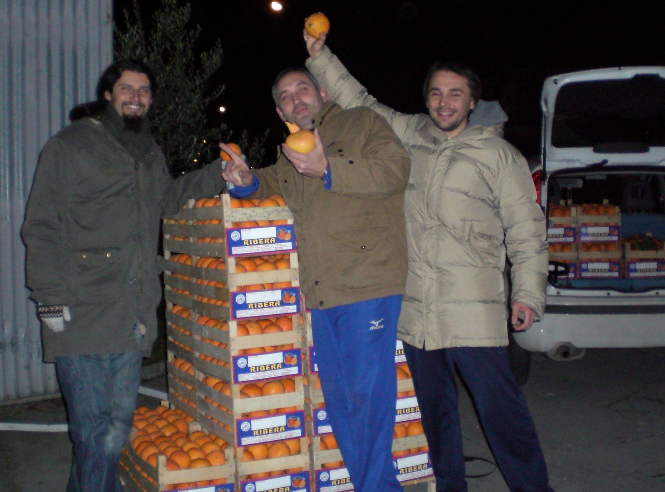 Sono arrivate le arance