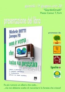 INCONTRO con Michele Dotti, presentazione del libro: Non è vero che tutto va peggio 1