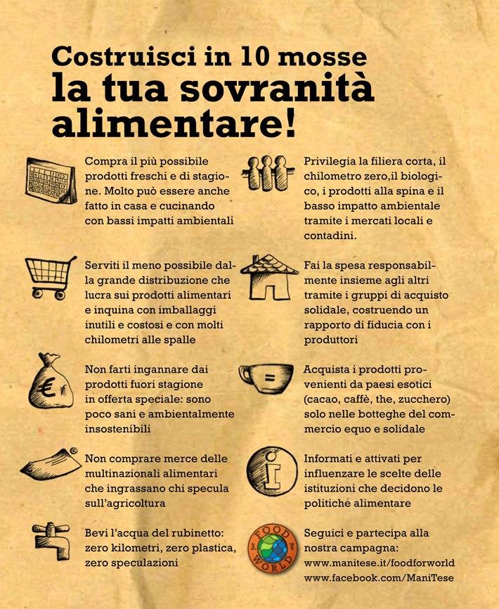 Sovranità alimentare!! 1