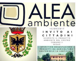 Presentazione progetto RIDUZIONE INCENERIMENTO RIFIUTI mar 12/09 a La Lenticchia 1