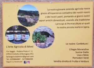 L'arte Agricola di Mimì - produttore presentatosi al Gaspaccio il 05/09/2020 2