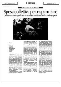 Articolo corriere Forlì